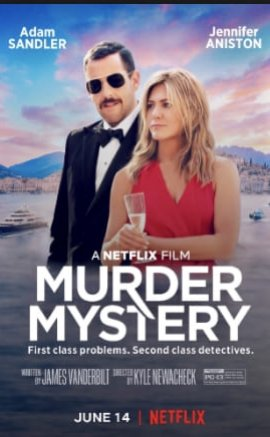 Murder Mystery Filmi (2019)